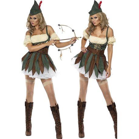 Fantasia de Robin dos Bosques Feminino