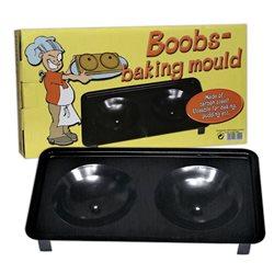 Forma para fazer bolos em forma de peitos