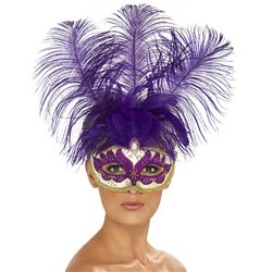 Máscara Veneziana - Roxo
