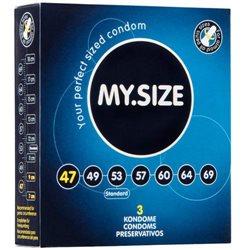 Preservativos Tamanhos Personalizados - Pack 3