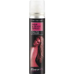 Spray Cabelo e Corpo - Rosa Neon UV 75ml