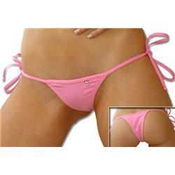 Tanga Bikini Brasileiro Normal - Rosa Bebé
