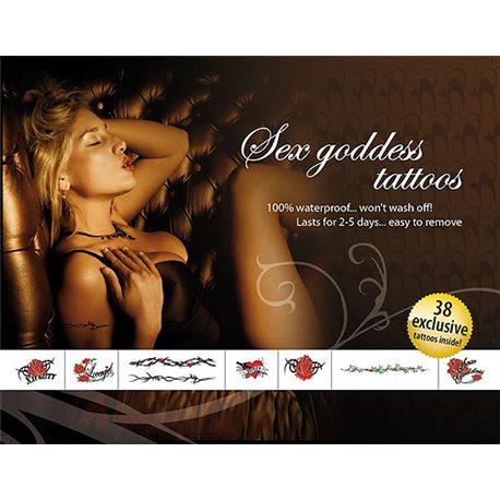 Tatuagens provisórias - Deusa sexual 38 Desenhos