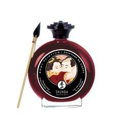 Morango Tinta Corporal Comestível - Shunga®