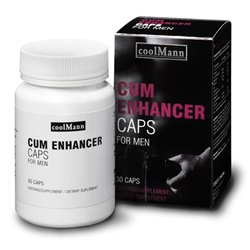 Aumento Produção Esperma - Cum Enhancer 30un