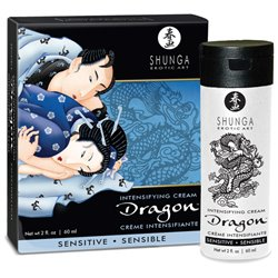 Creme Estimulante Dragon Sensitive - Shunga®