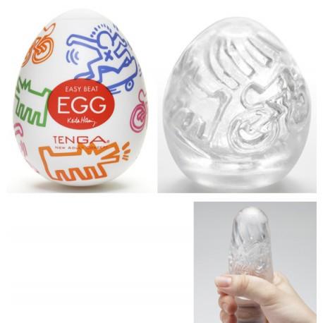 TENGA® - Egg Keith Haring Street