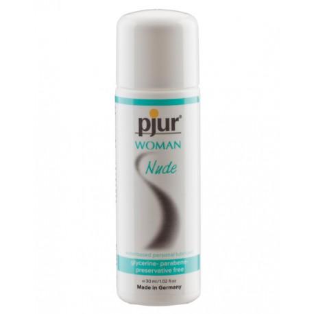 Lubrificante Especial Mulher Pjur® Nude Sem Parabenos - 30ml