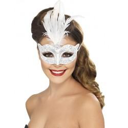 Máscara Veneziana - Prateada